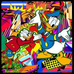 Never Duck Family Fortune (Pop Art, Street Art, Urban Art, Disney, Donald Duck)