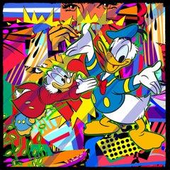 Never Duck Family Richesv (Pop Art, Street Art, Urban Art, Disney, Donald Duck)