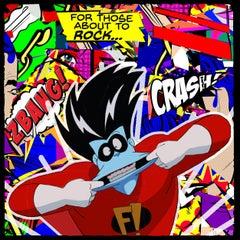 Rock out with your...  (Pop Art, Street Art, Urban Art)