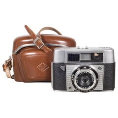 AGFA Optima 1 Camera with Original Leather Case, circa 1960