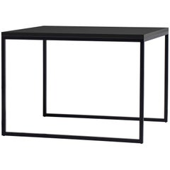 A. G. Fronzoni Square Fronzoni 64 Table in Anthracite Top & Base for Cappellini