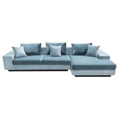 Aghiless Acqua Right-Facing Sofa