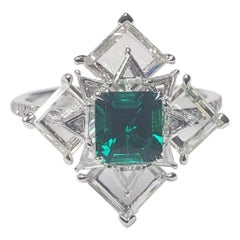 AGL Certified No Oil Colombian Emerald by Takat