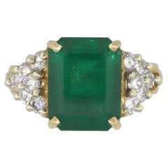 AGL Emerald Ring with Diamonds