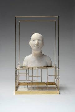 Buste de Barbu dans une Cage