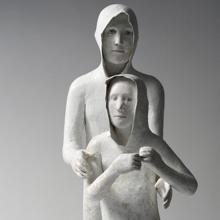 2 Frères (Younger Brother) - Contemporary Sculpture by Agnes Baillon