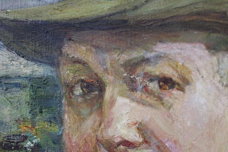American Agnes M. Richmond, 1923 Oil on Canvas For Sale