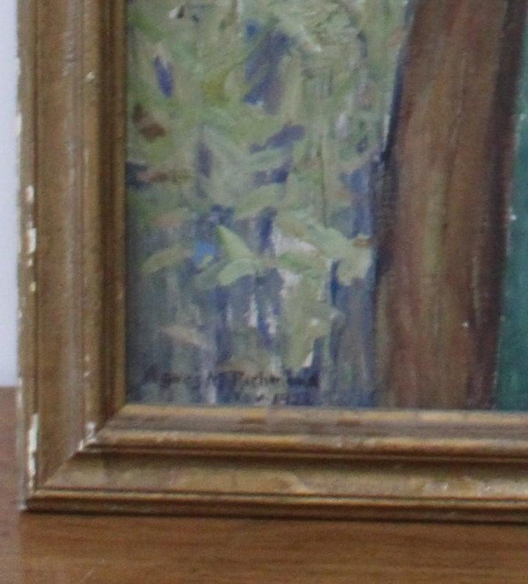 Painted Agnes M. Richmond, 1923 Oil on Canvas For Sale