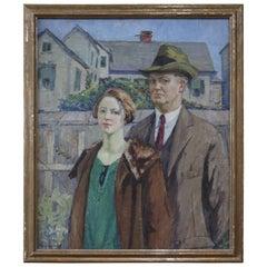 Agnes M. Richmond, 1923 Oil on Canvas