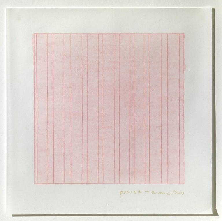 Praise - Print by Agnes Martin