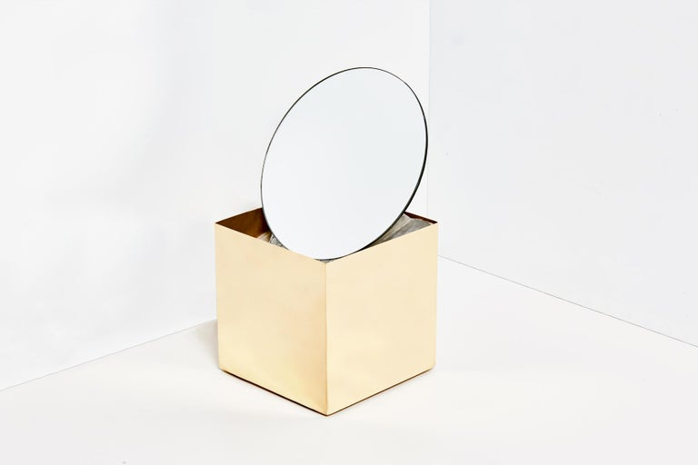 Contemporary Agnes Mirror by Slash Objects For Sale