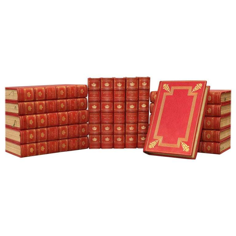 """Agnes Strickland's """"Lives of the Queens of England From the Norman Conquest"""" For Sale"""