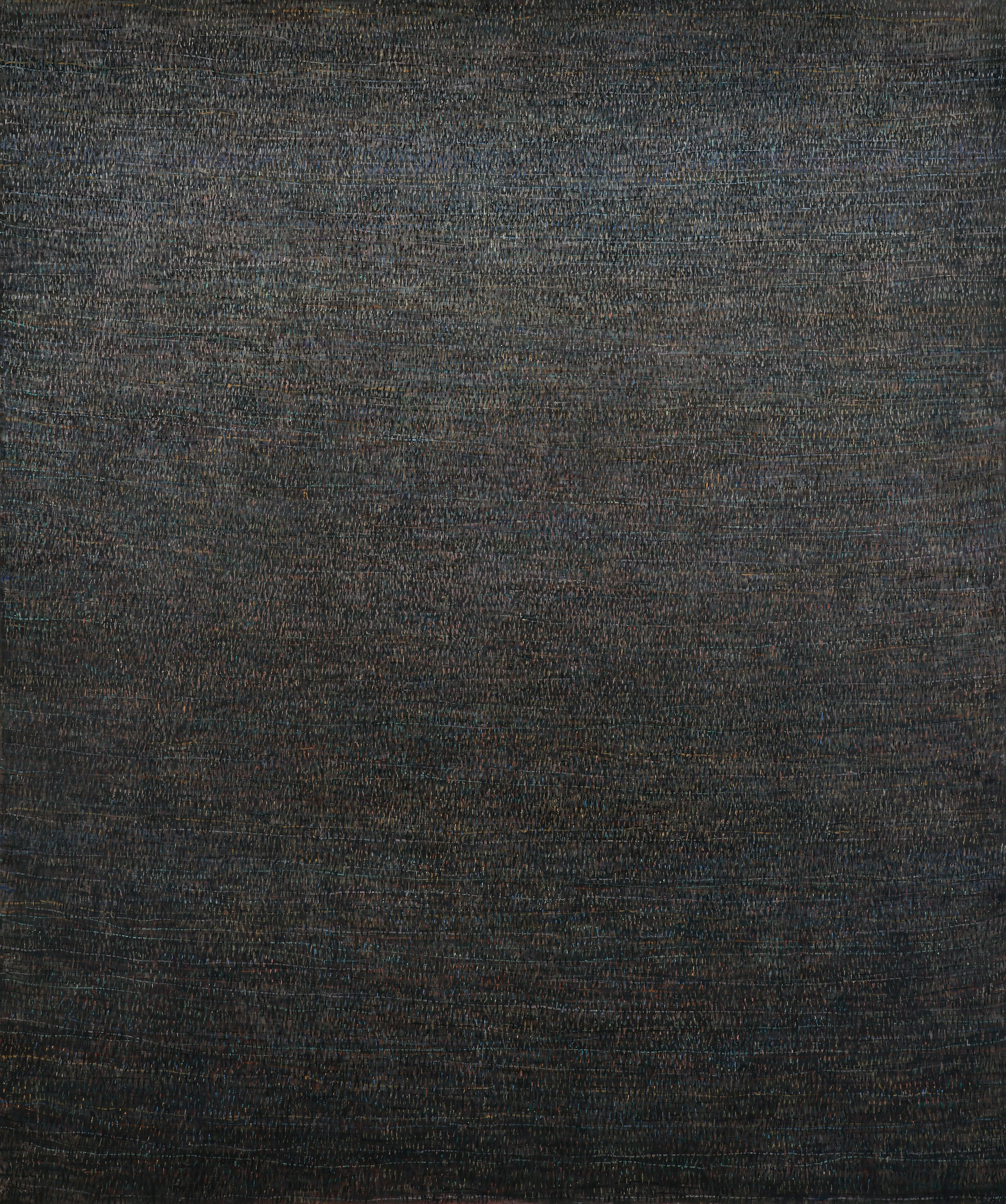 Good Evening - Large Format Painting, Modern, Minimalistic, Contemplative