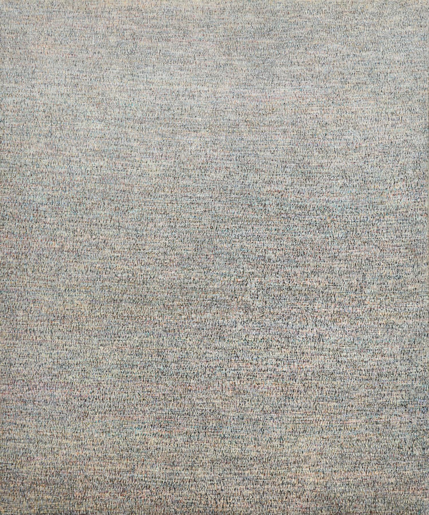 Good Morning - Large Format Painting, Modern, Minimalistic,  Contemplative