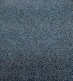 North Sea - Ultramarine Blue, Contemporary Conceptual, Minimalistic Oil Painting
