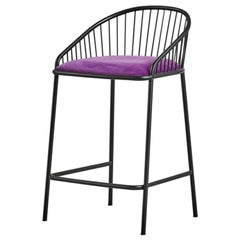 Agora Bar Low Stool by Pepe Albargues