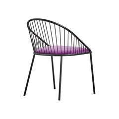 Agora Black Chair by Pepe Albargues