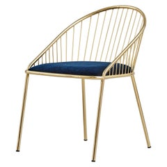 Agora Gold Chair by Pepe Albargues