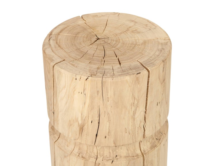 Organic Modern Agora Stool / Table by Claudio Sebastian Stalling For Sale