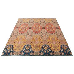 Agra Carpet in Wool and Silk