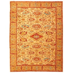 Agra Rug, Branches, Palmettes and Interwoven Flowers