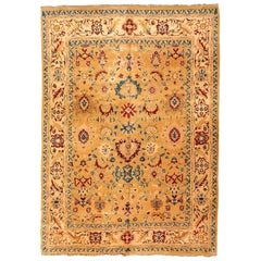 Agra Rug, Classic Interlaced Flowers and Branches