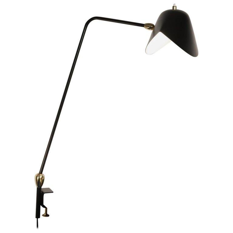 """Agrafée """"Simple"""" Desk Lamp by Serge Mouille For Sale"""
