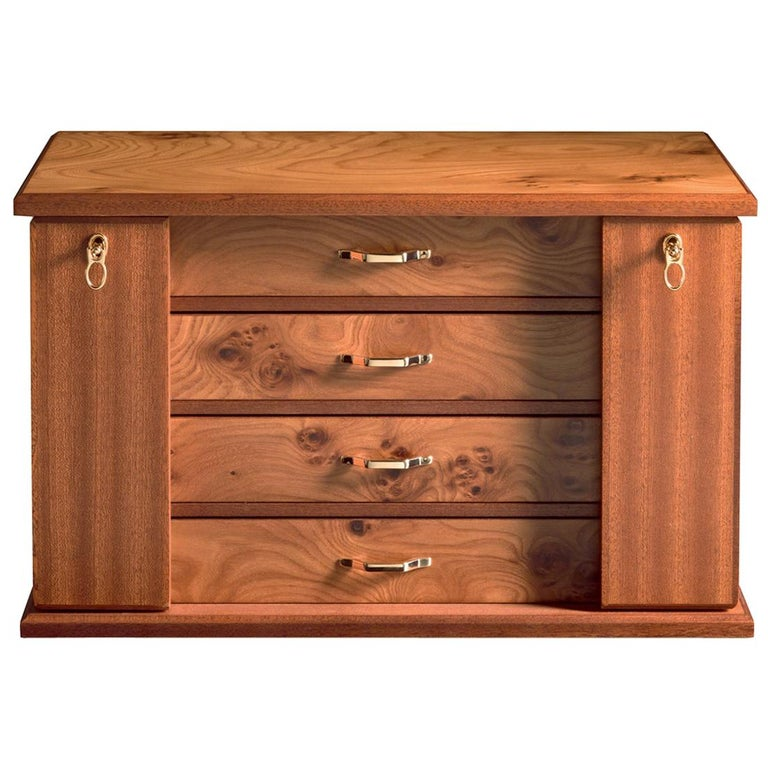 Agresti Ali Con Le Gioie Jewelry Chest with 4 Drawers For Sale
