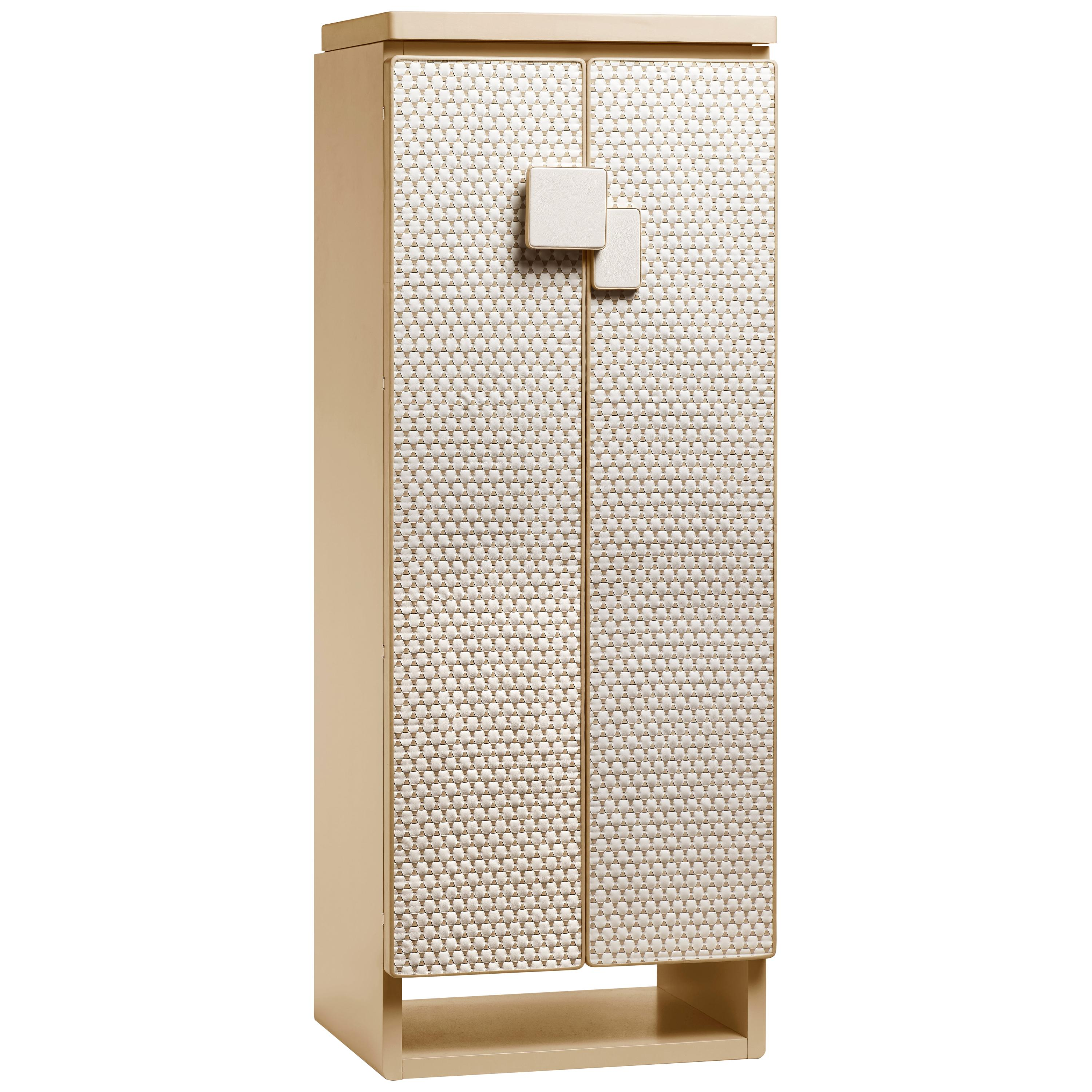 Agresti Gioia Intreccio Contemporary Armored Jewelry Armoire Safe