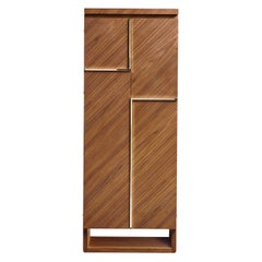 Agresti Gioia Noce Armored Armoire in Canaletto Walnut