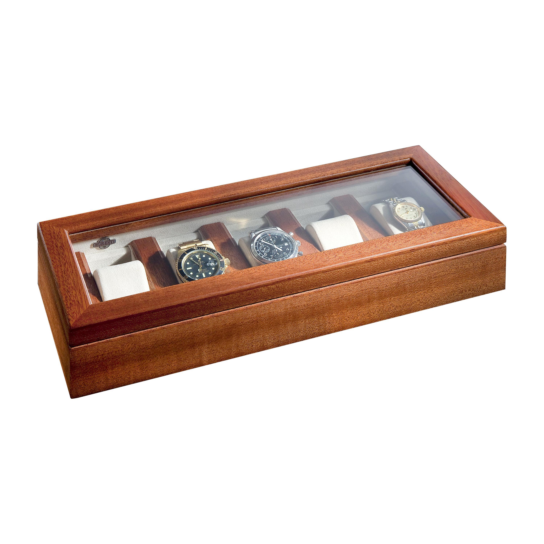 Agresti Il Collezionista Box for 5 Watches