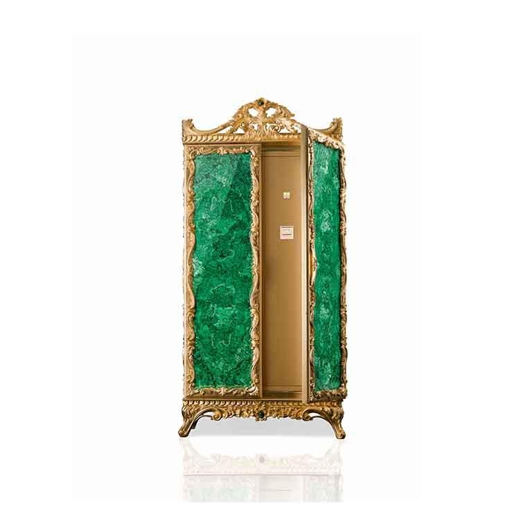 Agresti La Grande Fortezza Armored Jewelry Armoire In New Condition For Sale In New York, NY