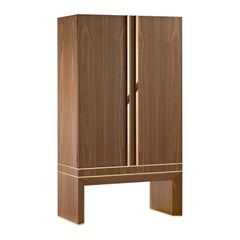 Agresti Lei Lui Armoire with Safe