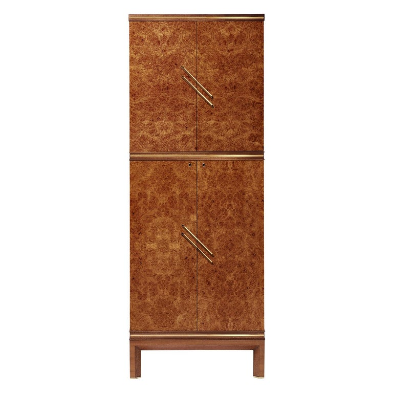 For Sale: Brown (Briar Wood) Agresti Magia Basic Jewelry Armoire