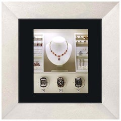 Agresti Mirror of Enchantment Classic Wall Safe with 3 Watch Winders
