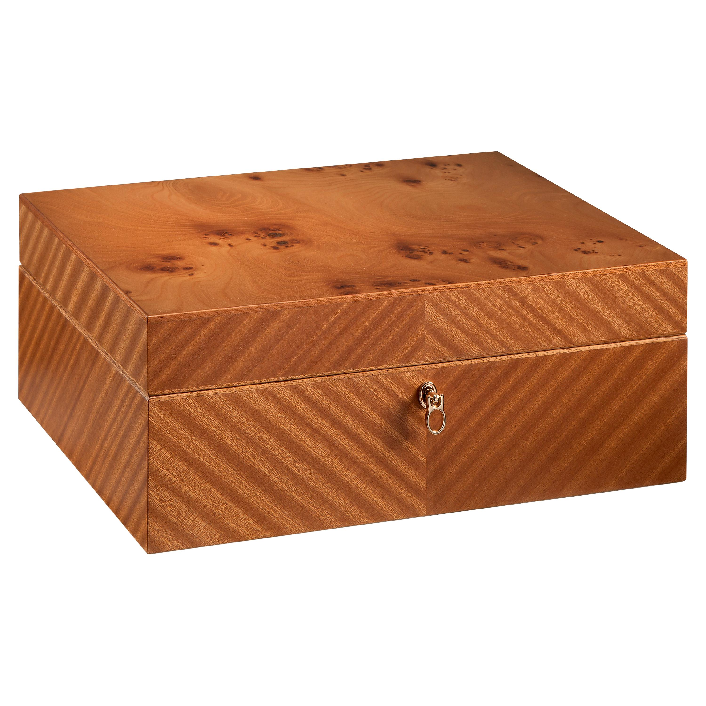 Agresti Monsieur Mahogany Men's Jewelry Box
