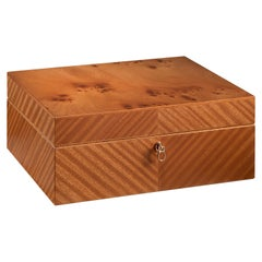 Agresti Monsieur Mahogany Men's Jewelry Box