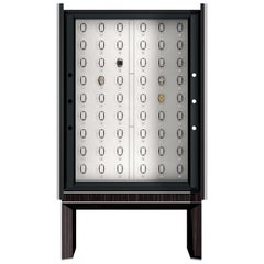 Agresti Solo Lui Black Armoire with 54 Watch Winders