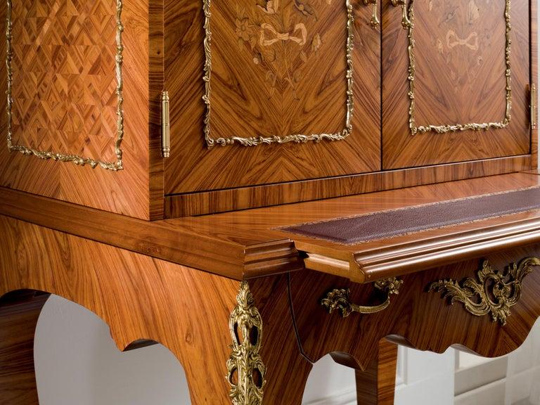 Modern Agresti Trianon Armored Writing Desk For Sale