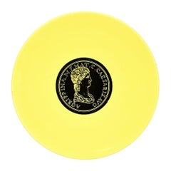 Agrippina Plate, Roman Emperors, by P. Fornasetti, 1960s