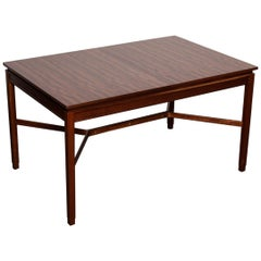 A.H. McIntosh Furniture Mahogany Rectangular Dining Table