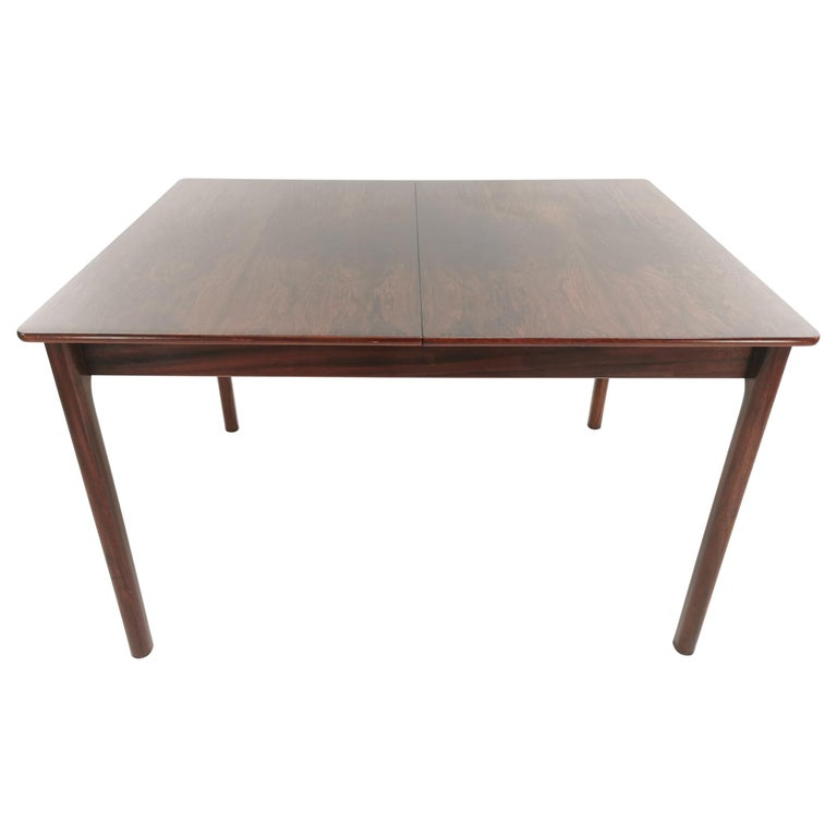 A.H. McIntosh of Kirkcaldy Rosewood Extending Dining Table Midcentury, 1970 For Sale
