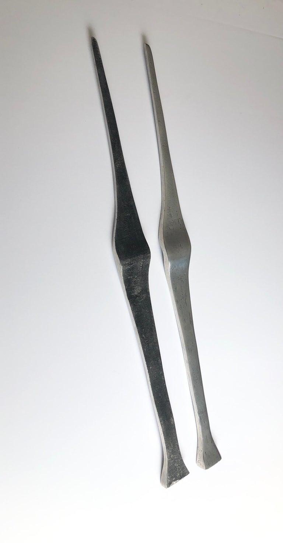 Aharon Bezalel Israeli Modernist Sculpture 2 Parts Minimalist Aluminum or Steel  For Sale 7