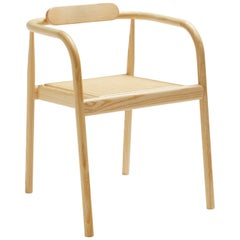 AHM Rattan Stackable Dining Chair in Ashwood