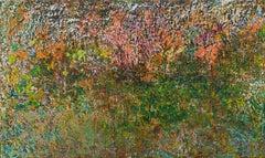 """Seasons"" Painting 47"" x 78"" inch by Ahmed Farid"