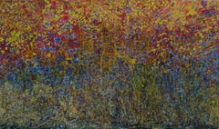 """""""Warm Embrace"""" Painting 47"""" x 78"""" inch by Ahmed Farid"""