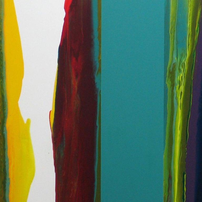 d0709-4, Dripping series - Contemporary Mixed Media Art by Ahn Hyun-Ju