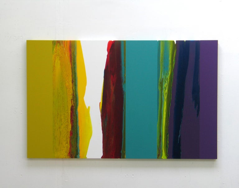 d0709-4, Dripping series - Mixed Media Art by Ahn Hyun-Ju