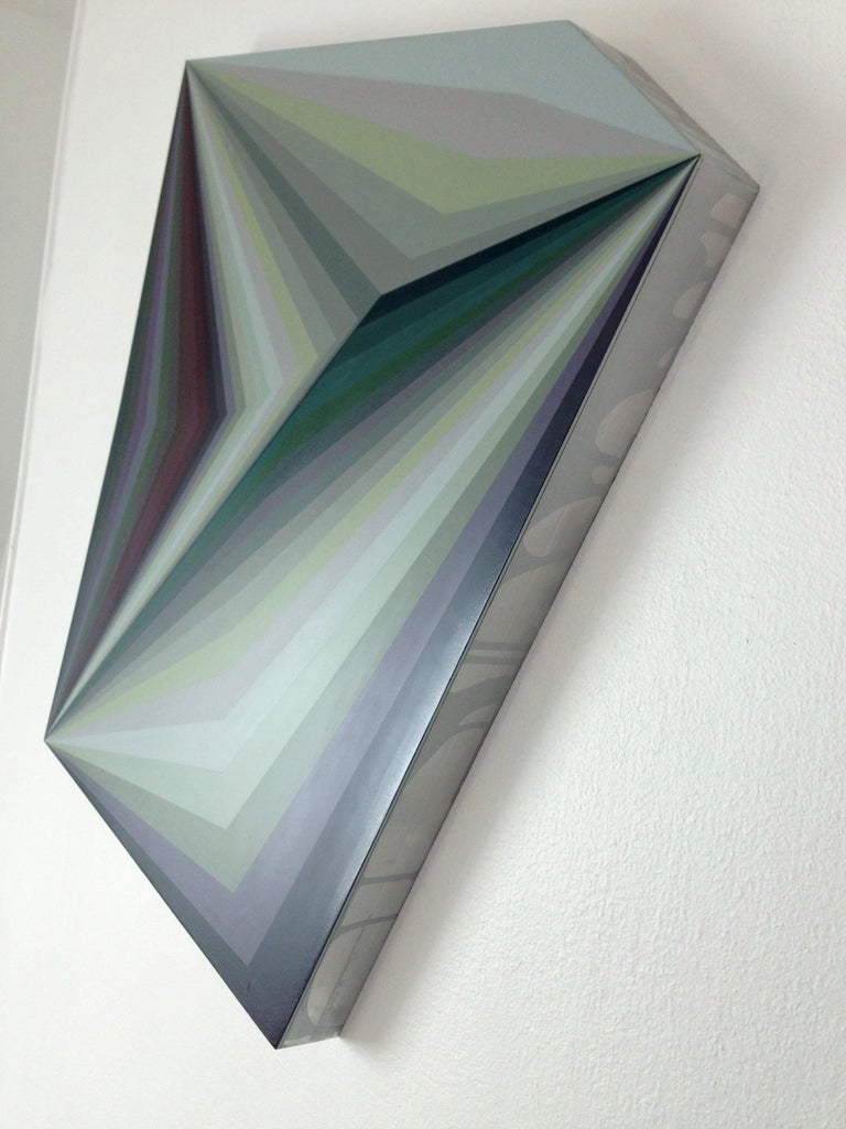 Moebius 10, Geometric Abstract Painting For Sale 1