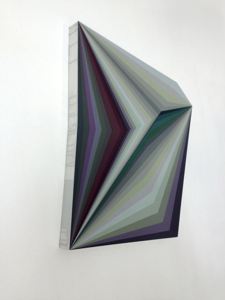 Moebius 10, Geometric Abstract Painting For Sale 2